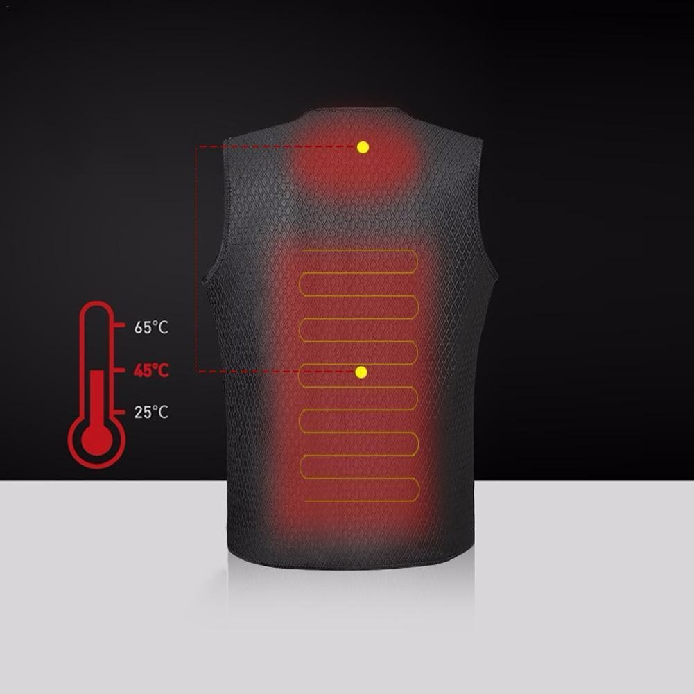 Heated Jacket Heating Winter Camping Climbing Clothes